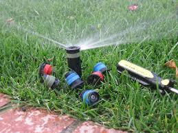 Sprinkler head spin-minor-irrigation-repair