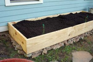 How to Build A Raised Bed Herb Garden-plant-box-raised-bed