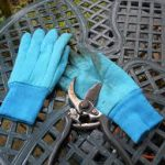 Garden hand gloves-landscape-safety-gear