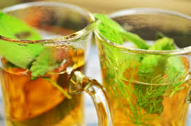 Herbal tea in two glass-the-benefit-of-herbal-tea