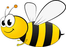 Smiling bee-your-health-and-honey