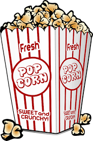 Pop corn in a box-healthy-junk-foods