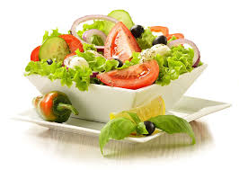 Vegetable salad-hydrated-foods