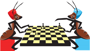 Insects playing chess-insect body-parts and their functions