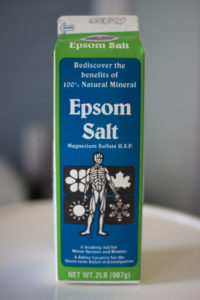 Epsom salt-Homemade- remedies- for- garden- pests
