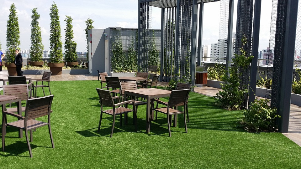 Rooftop Gardens-garden-plants-and-furniture
