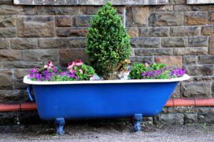 Garden Plants-garden-ideas-recycle-material